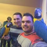 Sergio Cristian, Leo y Riffi